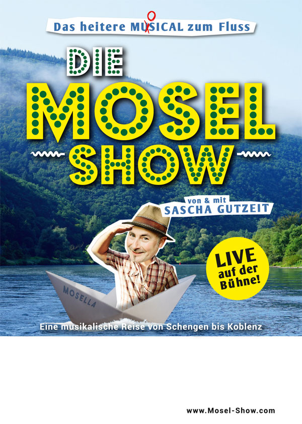 Die Mosel-Show (Flyer)
