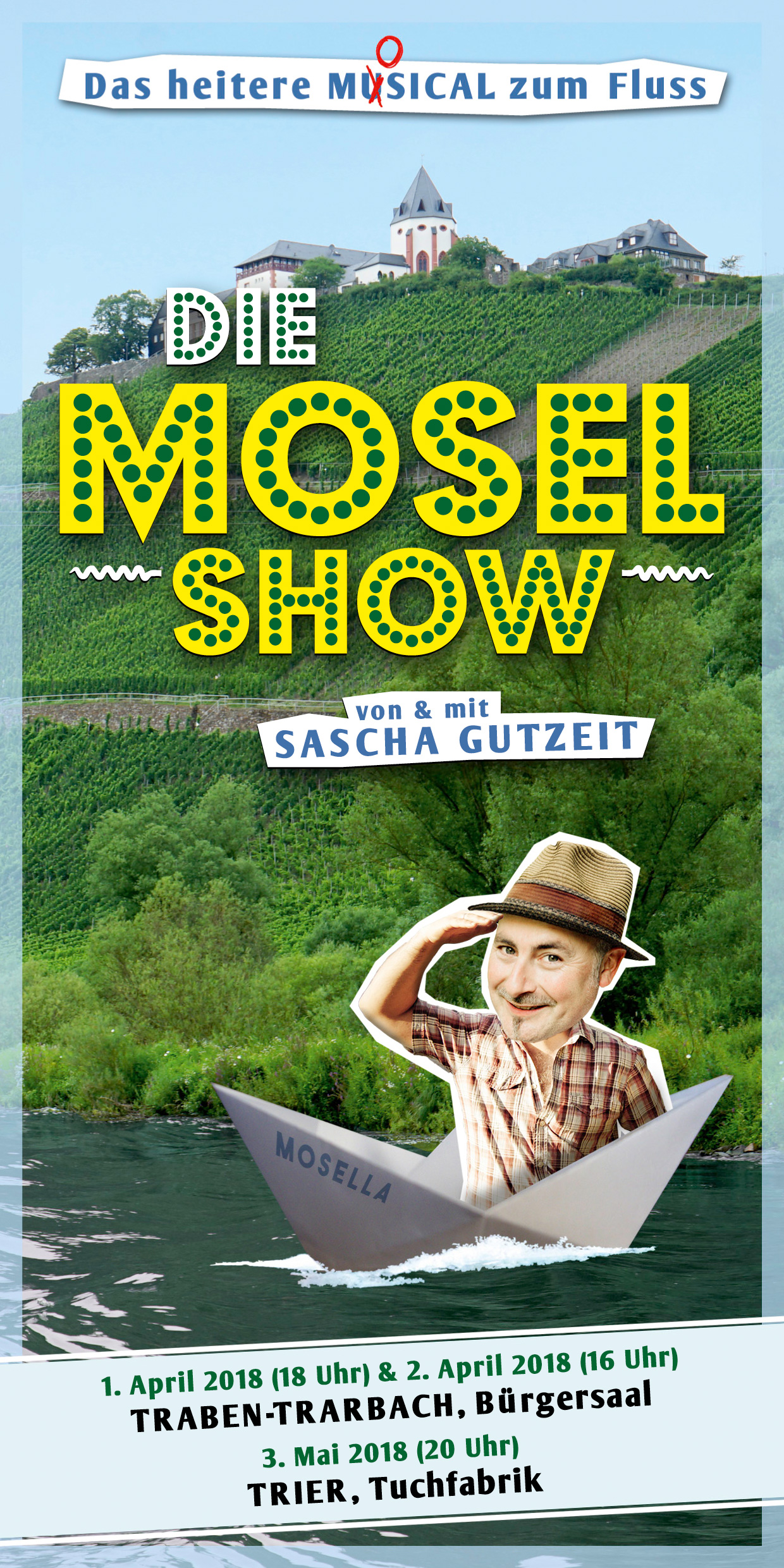 Die Mosel-Show (Flyer 2018)